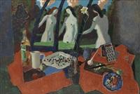 interieur mit weiblichen akten by vadim kulakov
