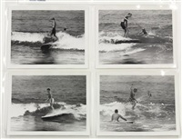 surfing - torrance (california) (set of 16) by leroy grannis