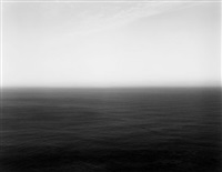 sea of japan hokkaido ii, from the series seascapes by hiroshi sugimoto