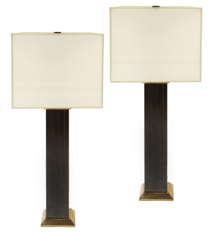 lamps pair by karl springer