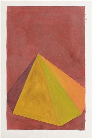 pyramide by sol lewitt