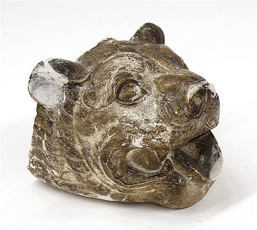lion head by paul howard manship
