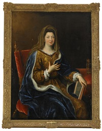 madame de maintenon by pierre mignard