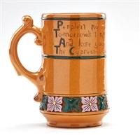 della robbia mug by roseville