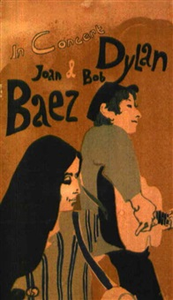 joan baez & bob dylan by posters: music