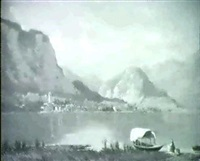 lag maggiore-landschaft by federico ashton