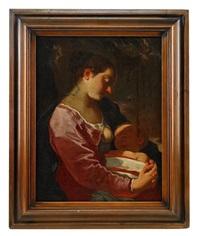 madonna med barnet by johann liss