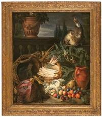 bodegón de frutas by peter (petrus) snyers