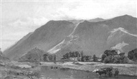 grange in borrowdale by thomas wade
