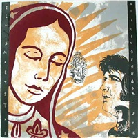 elvis meets the virgin of guadalupe by enrique chagoya