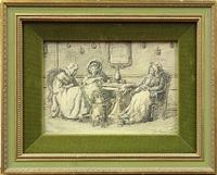 bible reading by alexander hugo bakker korff