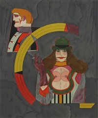 after noon (portfolio of 8 works) by richard lindner