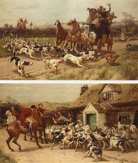 the chase by john charles dollman