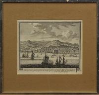 seventeenth century battleships (set of 5) by pieter (petrus) schenk