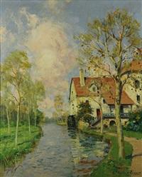 la maison par la riviere by paul emile lecomte
