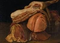 stillleben mit fleisch und henkelkorb by nicolas spheyman