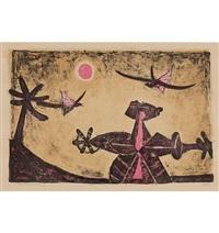«observador de pájaros» by rufino tamayo