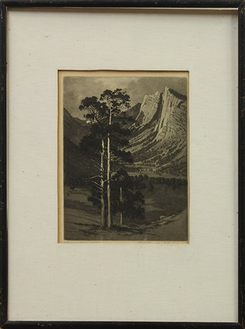 black cannon estes park colo old pine estes colorado 2 works by george elbert burr