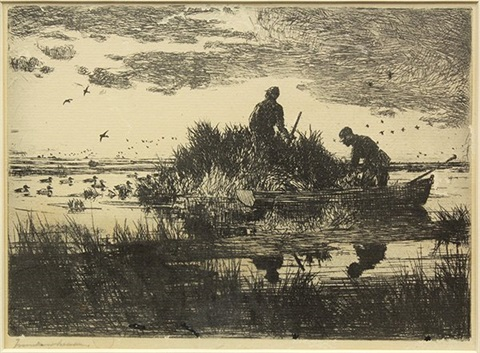 duck hunters by frank weston benson
