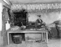bauernstube by friedrich (fritz) raupp