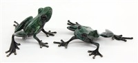 stargazer and crouching frog (2 works) by tim cotterill