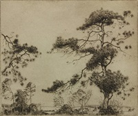 pines by alfred heber hutty