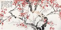 梅花翠鸟 by jia guangjian
