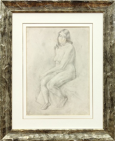 seated nude by andré lhote