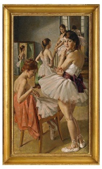 balettflickor by philippe de rougemont