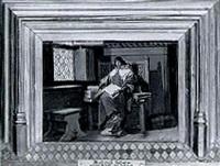 medieval scholar by joseph léopold ratinckx