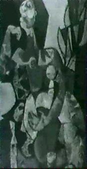 seated woman by phyllis kaye adams