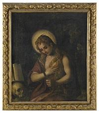 den botfärdige maria magdalena by domenico tintoretto