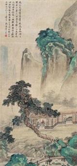 山水 (landscape) by zhuang jiongsheng