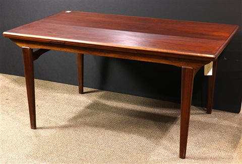 Rosewood Dining Table By Niels Otto