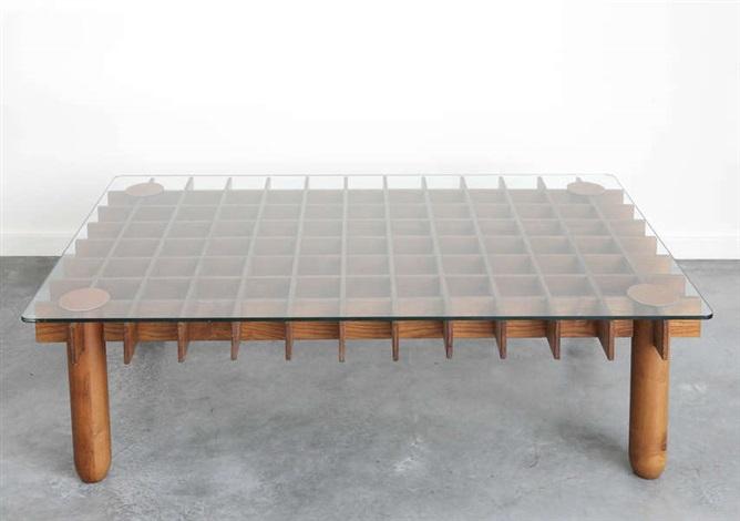 Table de salon, modèle Kyoto by Gianfranco Frattini on artnet