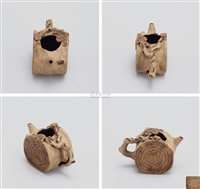 树桩水盂 (stump shaped water jar) by jiang yanting