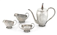 coffee service (set of 4) by allan adler