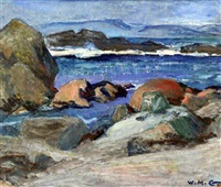 iona seascape by william mervyn glass