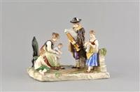 bauernfamilie by porzellanmanufaktur rudolstadt-volkstedt
