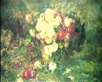 stilleben mit rosen by c. g. zunzunen