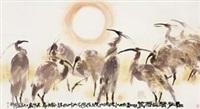 苍鹭 (eagle) by liu baoshen