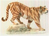 tiger (design by n. fritz) by hutschenreuther