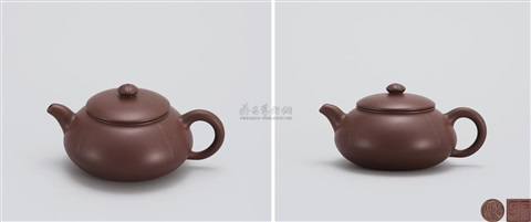 菊蕾壶 bud shaped teapot by pei shimin