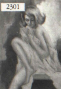 nude woman by antonio sansone