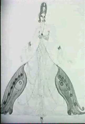 costume design for ziegfield by gladys emerson cook