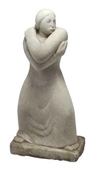 standing woman by jean de marco