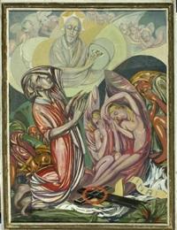himmelfahrt christi by moritz (moriz) melzer