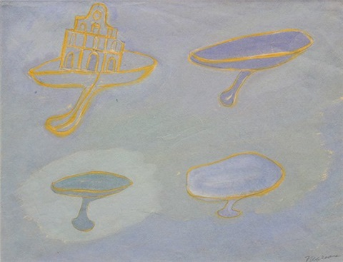 church and chalices by morris graves