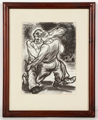 fighting skinheads by peter howson