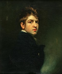 portrait of a young man (the artist?) by john opie